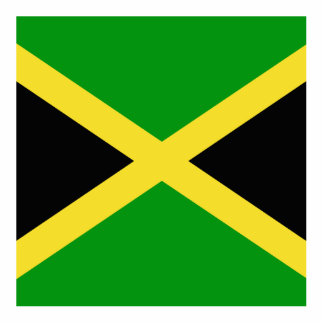 Jamaica Standing Photo Sculpture