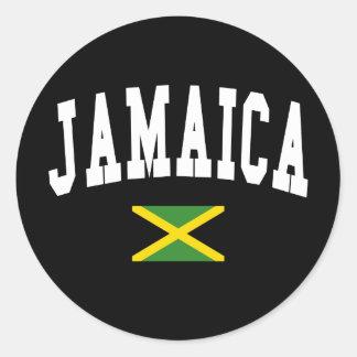 Jamaica Style Classic Round Sticker