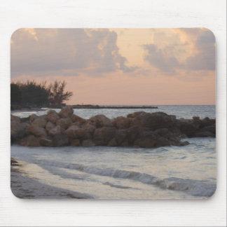 Jamaica Sunrise Mouse Pad
