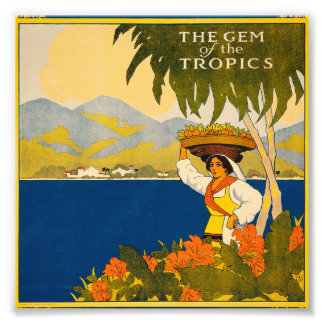 Jamaica, the gem of the tropics art photo
