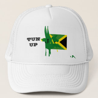 Jamaica TUN UP White Mesh Hat