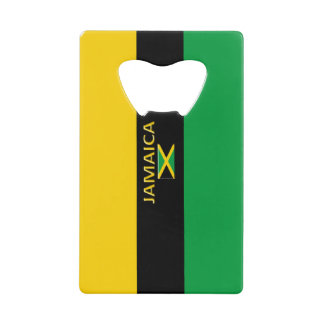 Jamaica Yellow Black Green Bottle Opener