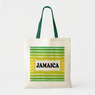 Jamaica Yellow Green Black Tote Bag