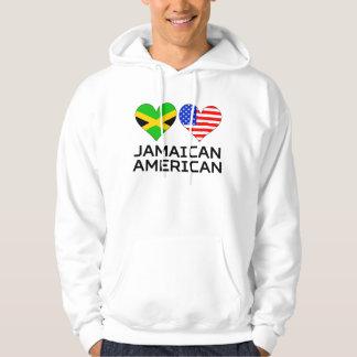Jamaican American Hearts Hoodie