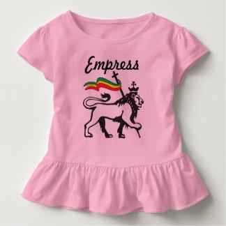 Jamaican Baby Clothes - Little Girl Dress: Empress Toddler T-Shirt