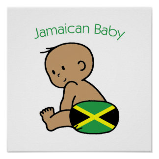 Jamaican Baby Poster