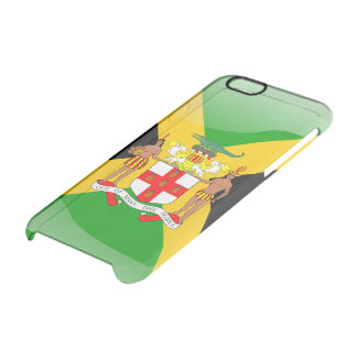 Jamaican Coat of arms Clear iPhone 6/6S Case