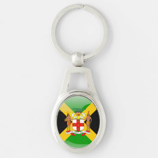 Jamaican Coat of arms Key Ring