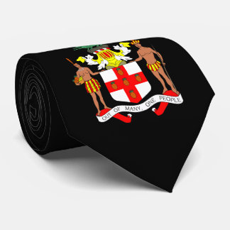 Jamaican Coat of arms Tie