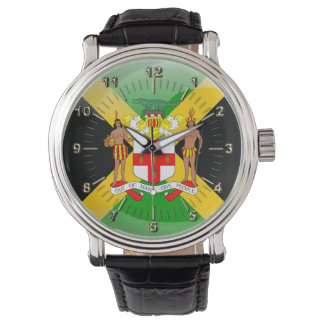 Jamaican Coat of arms Wrist Watches
