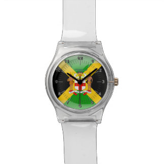 Jamaican Coat of arms Wristwatch
