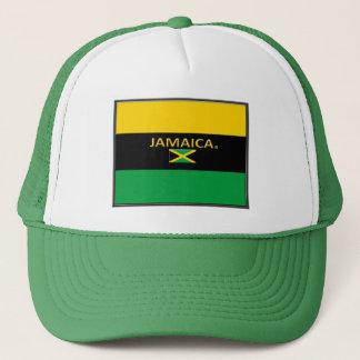 Jamaican Colors Flag Trucker Hats