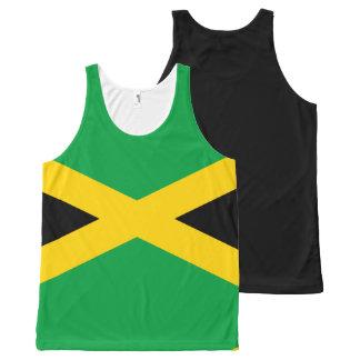 Jamaican Flag All-Over Print Singlet
