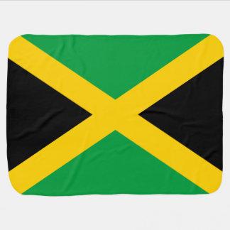 Jamaican Flag Baby Blanket