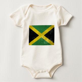 Jamaican Flag Baby Bodysuit