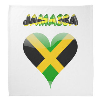 Jamaican flag bandana