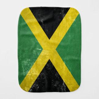 Jamaican Flag Burp Cloth