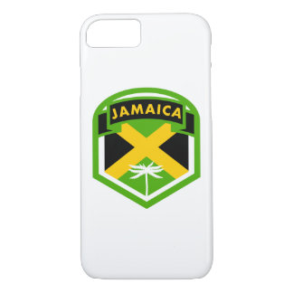 Jamaican Flag Crest Style iPhone 8/7 Case
