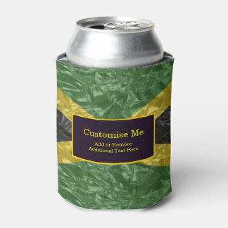 Jamaican Flag - Crinkled Can Cooler