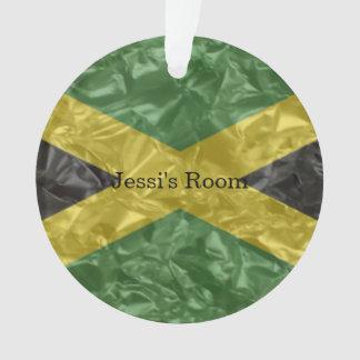 Jamaican Flag - Crinkled Ornament