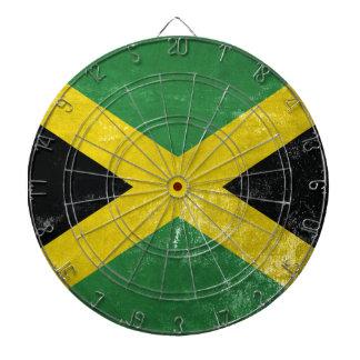 Jamaican Flag Dartboard