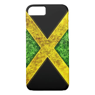 Jamaican Flag Fractal iPhone 7 Case