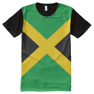 Jamaican Flag full All-Over Print T-Shirt