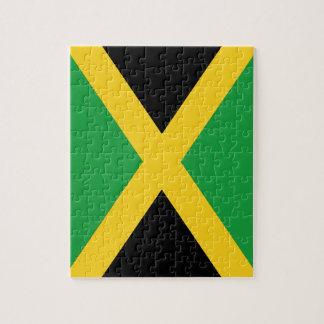 Jamaican flag jigsaw puzzle