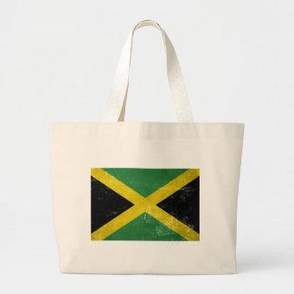 Jamaican Flag Large Tote Bag