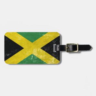 Jamaican Flag Luggage Tag