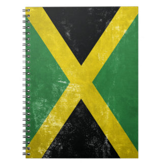 Jamaican Flag Notebook