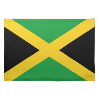 Jamaican flag placemat