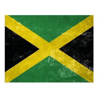 Jamaican Flag Postcard