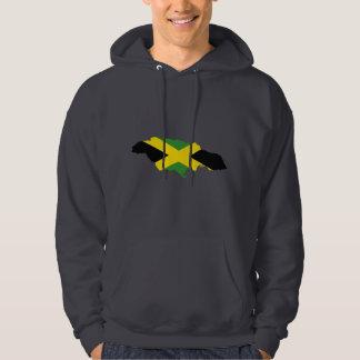 Jamaican flag - Proud Jamaicans - Rastafari Hoodie