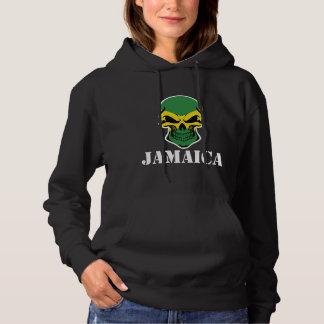 Jamaican Flag Skull Jamaica Hoodie