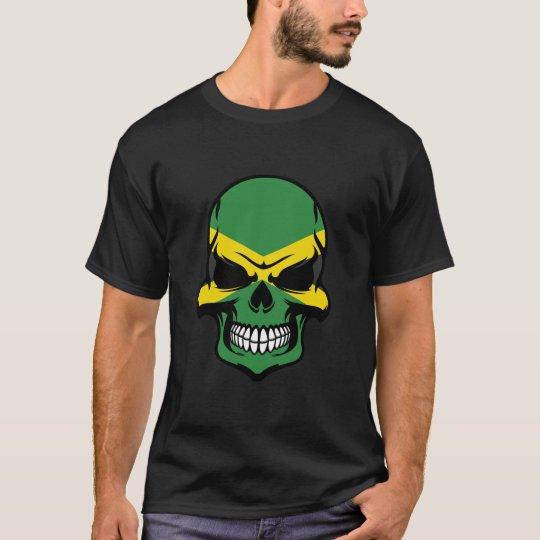 Jamaican Flag Skull T-Shirt