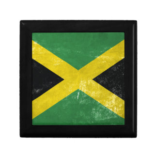 Jamaican Flag Small Square Gift Box
