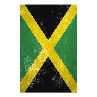 Jamaican Flag Stationery