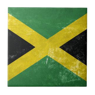Jamaican Flag Tile