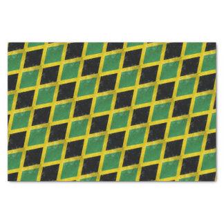 Jamaican Flag Tissue Paper