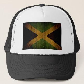 Jamaican flag. trucker hat
