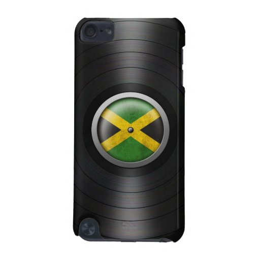Jamaican Flag Vinyl Record Album Graphic iPod Touch (5th Generation) Cover