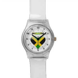 Jamaican flag watch