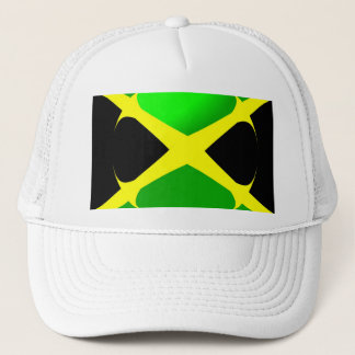 Jamaican Flag With Bubble Hat