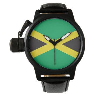 Jamaican Flag Wrist Watch