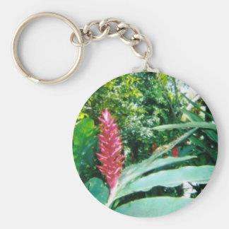 Jamaican Flower Keychain