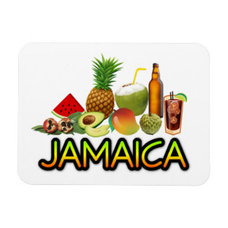 Jamaican food magnet