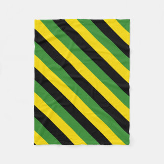 Jamaican Home Decor Fleece Blanket