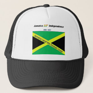 Jamaican Independence T-shirts Trucker Hat