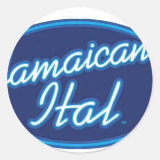 Jamaican Ital originals Classic Round Sticker